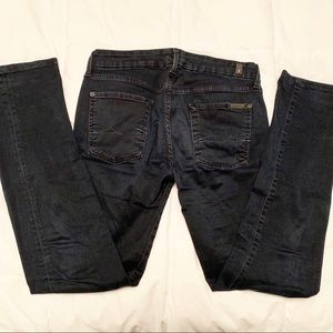 7 For All Mankind Straight Leg MADE IN ITALY